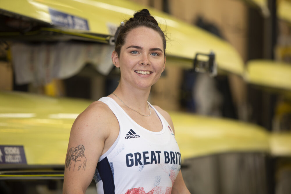 A portrait from the para rower Lauren Rowles by ©Imagecomms